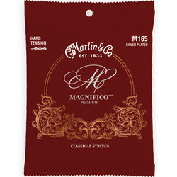 Martin Magnifico Classical Guitar Strings - Silver Plated, Hard