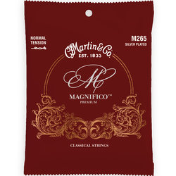 Martin Magnifico Classical Guitar Strings - Silver Plated, Normal
