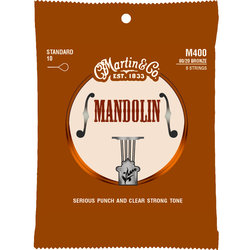 Martin Mandolin Strings - 80/20 Bronze, Standard