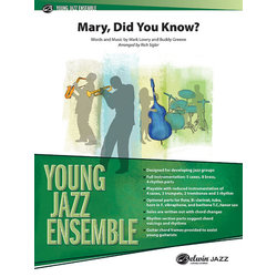 Mary, Did You Know? - Score & Parts, Grade 2.5