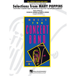 Mary Poppins - Selections, Score & Parts, Grade 3