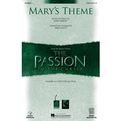 Mary's Theme - (from The Passion of the Christ) - 2PT, Parts