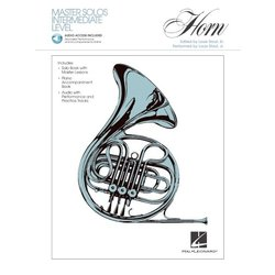 Master Solos Intermediate Level – French Horn - w/Online Audio