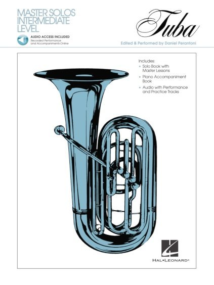 View larger image of Master Solos Intermediate Level - Tuba w/Online Audio