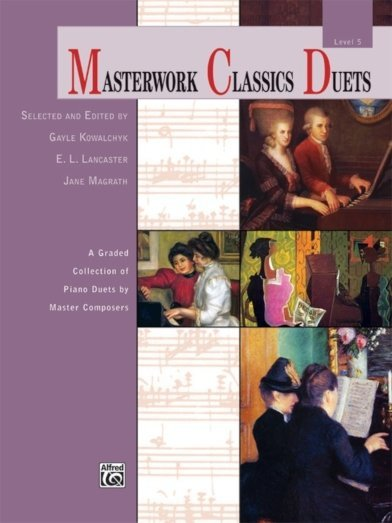 View larger image of Masterwork Classics Duets, Level 5 (1P4H)