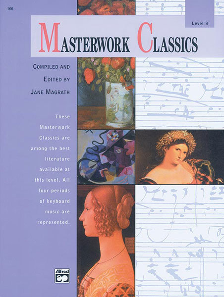 View larger image of Masterwork Classics, Level 3 (Book & CD)