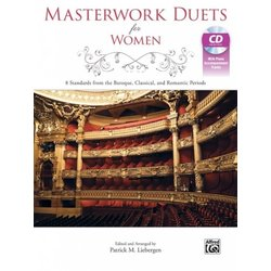 Masterwork Duets for Women - Vocal Book & CD