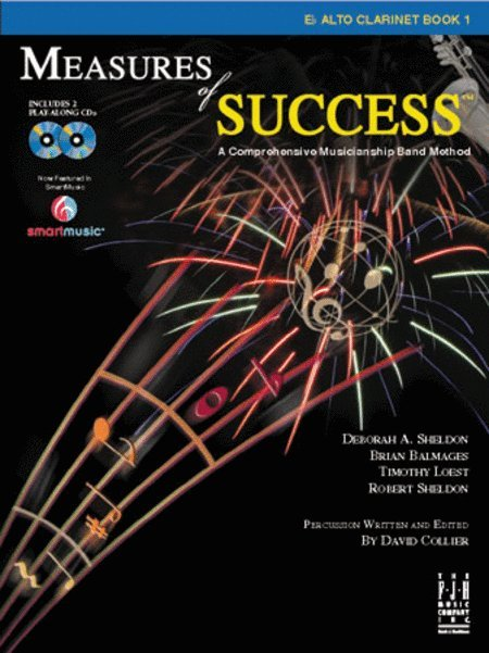 View larger image of Measures of Success Book 1 w/2CD - Alto Clarinet