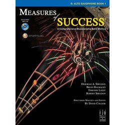 Measures of Success Book 1 w/2CD - Alto Saxophone