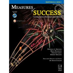 Measures of Success Book 1 w/2CD - Baritone BC
