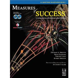 Measures of Success Book 1 w/2CD - Baritone Saxophone