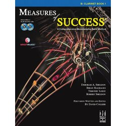 Measures of Success Book 1 w/2CD - Clarinet