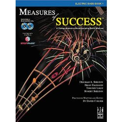 Measures of Success Book 1 w/2CD - Electric Bass
