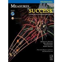 Measures of Success Book 1 w/2CD - Percussion