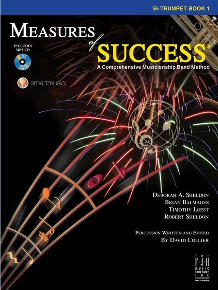 View larger image of Measures of Success Book 1 w/2CD - Trumpet