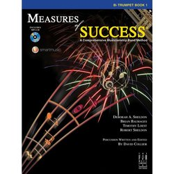 Measures of Success Book 1 w/2CD - Trumpet