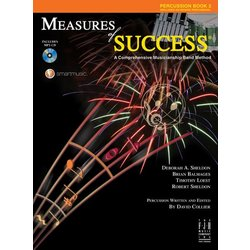 Measures Of Success Book 2 w/2CD - Percussion