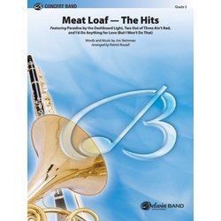 Meatloaf: The Hits - Score & Parts, Grade 3