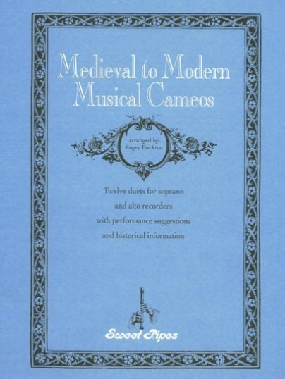 View larger image of Medieval to Modern Musical Cameo - (Soprano/Alto Recorder Duet)