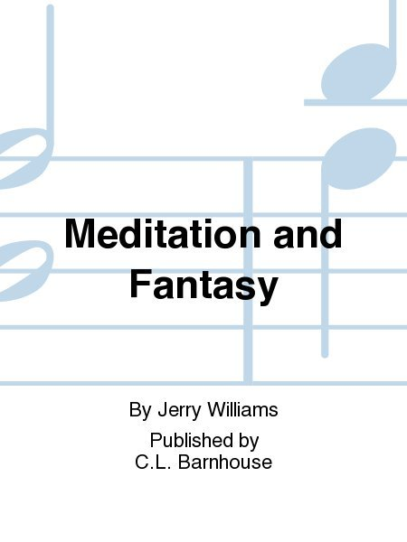 View larger image of Meditation and Fantasy - Score & Parts, Multi-Level
