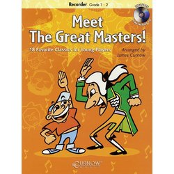 Meet the Great Masters - Soprano Recorder (Book & CD)