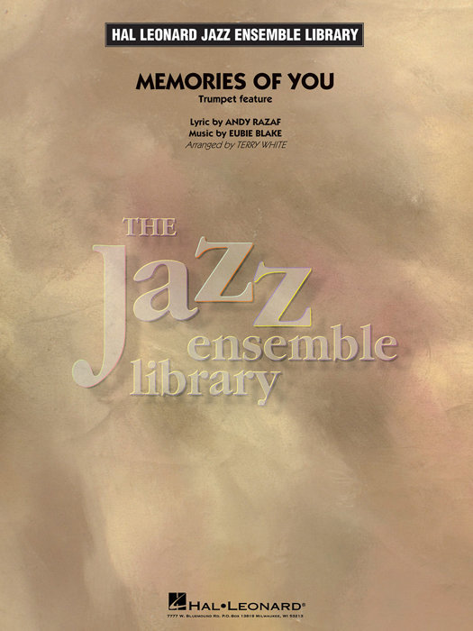 View larger image of Memories of You (Trumpet Feature) - Score & Parts, Grade 4
