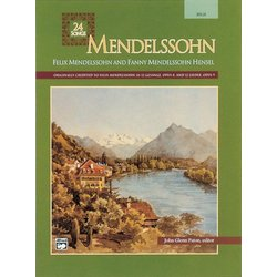 Mendelssohn - 24 Songs (High Voice)