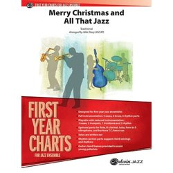 Merry Christmas and All That Jazz - Score & Parts, Grade 1