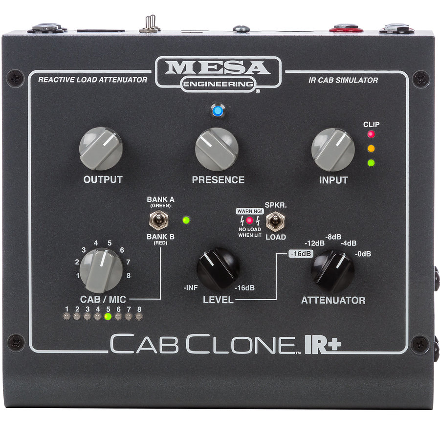 View larger image of MESA/Boogie CabClone IR+ Cabinet Simulator - 8 ohm