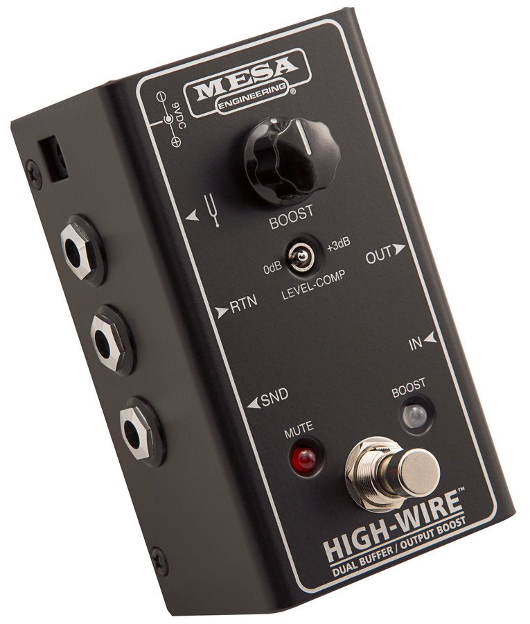 View larger image of MESA/Boogie High-Wire Dual Buffer / Line Driver Pedal