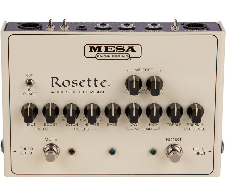 View larger image of MESA/Boogie Rosette Acoustic DI Preamp