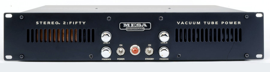 View larger image of MESA/Boogie Stereo 2: Fifty Power Guitar Amplifier