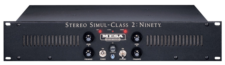 View larger image of MESA/Boogie Stereo Simul-Class 2: Ninety Power Amplifier