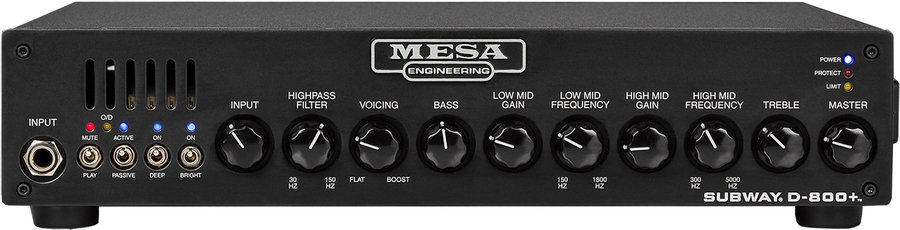 View larger image of MESA/Boogie Subway D-800+ Bass Amp Head