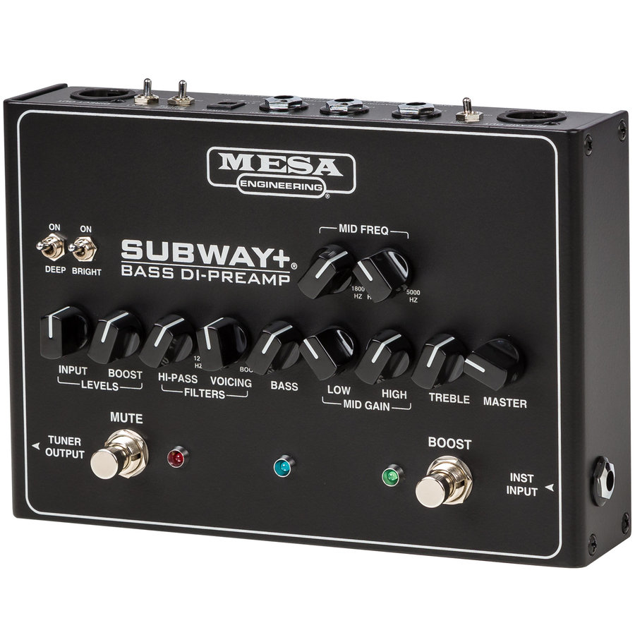 View larger image of MESA/Boogie Subway Plus Bass DI-Preamp