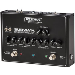 MESA/Boogie Subway Plus Bass DI-Preamp