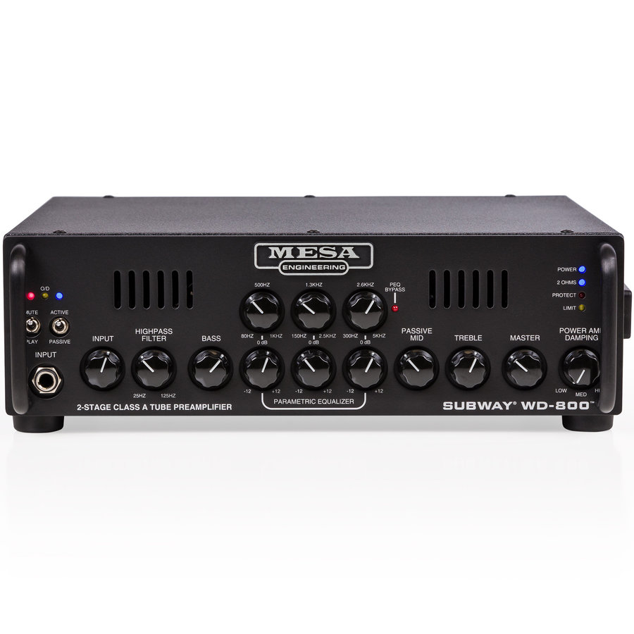 View larger image of MESA/Boogie Subway WD-800 Bass Amp Head