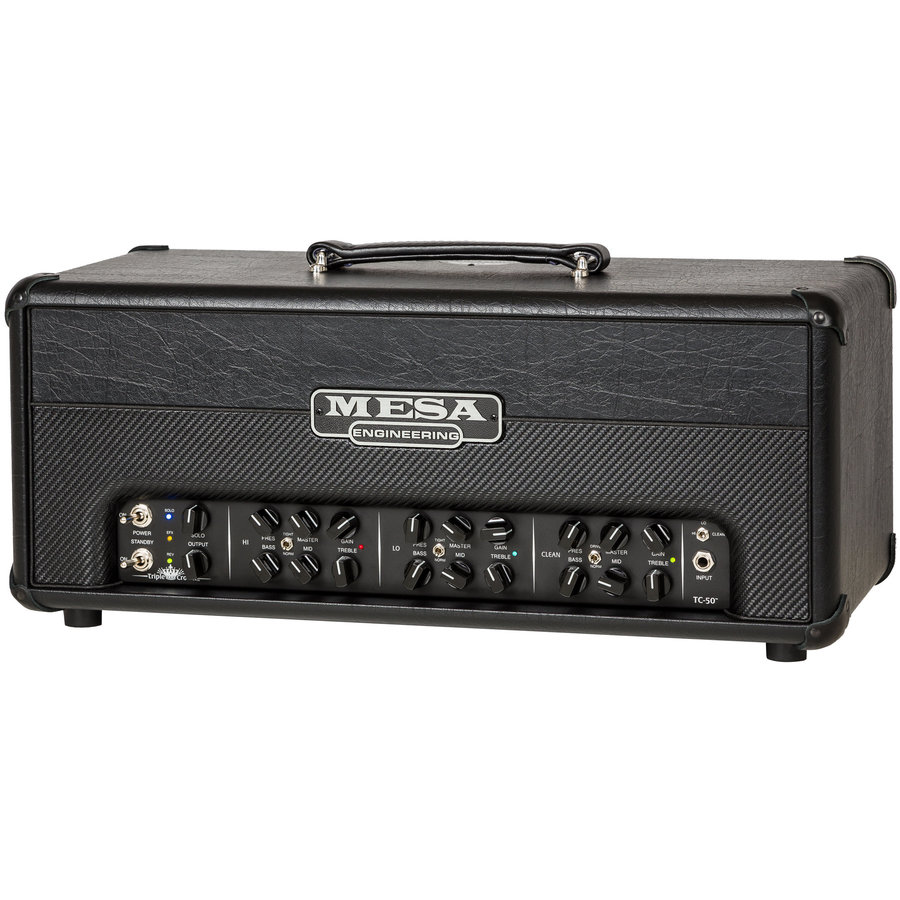 View larger image of MESA/Boogie Triple Crown TC-50 Amp Head