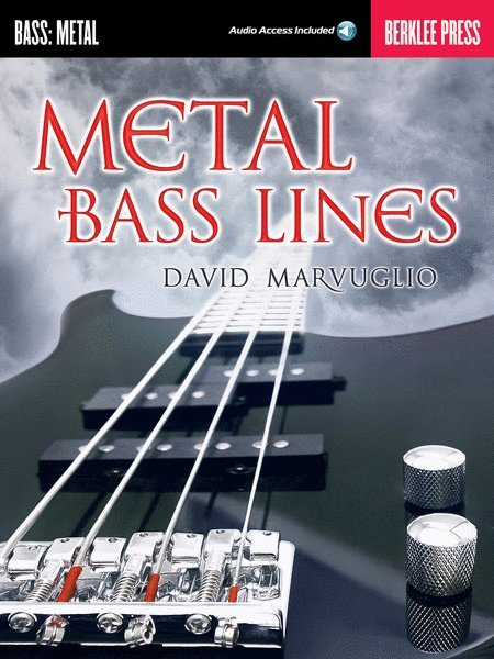 View larger image of Metal Bass Lines w/Online Audio