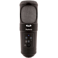 CAD Audio PodMaster SuperD USB Professional Broadcast/Podcasting Microphone