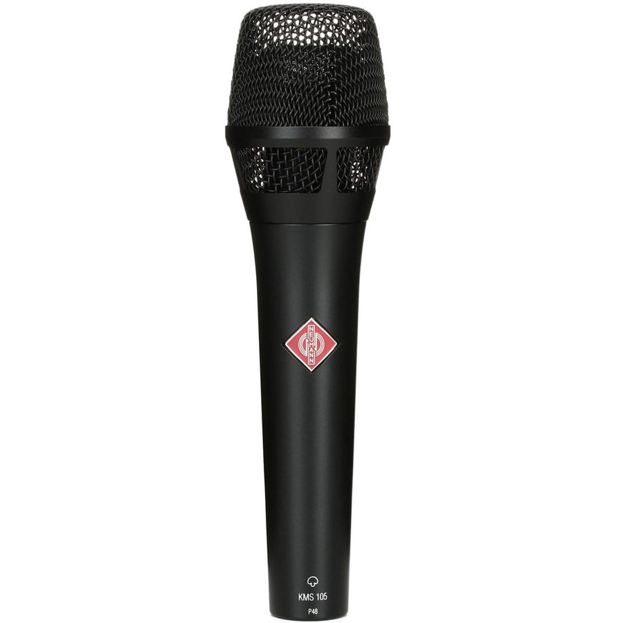 View larger image of Neumann KMS 105 Supercardioid Condenser Handheld Microphone - Black