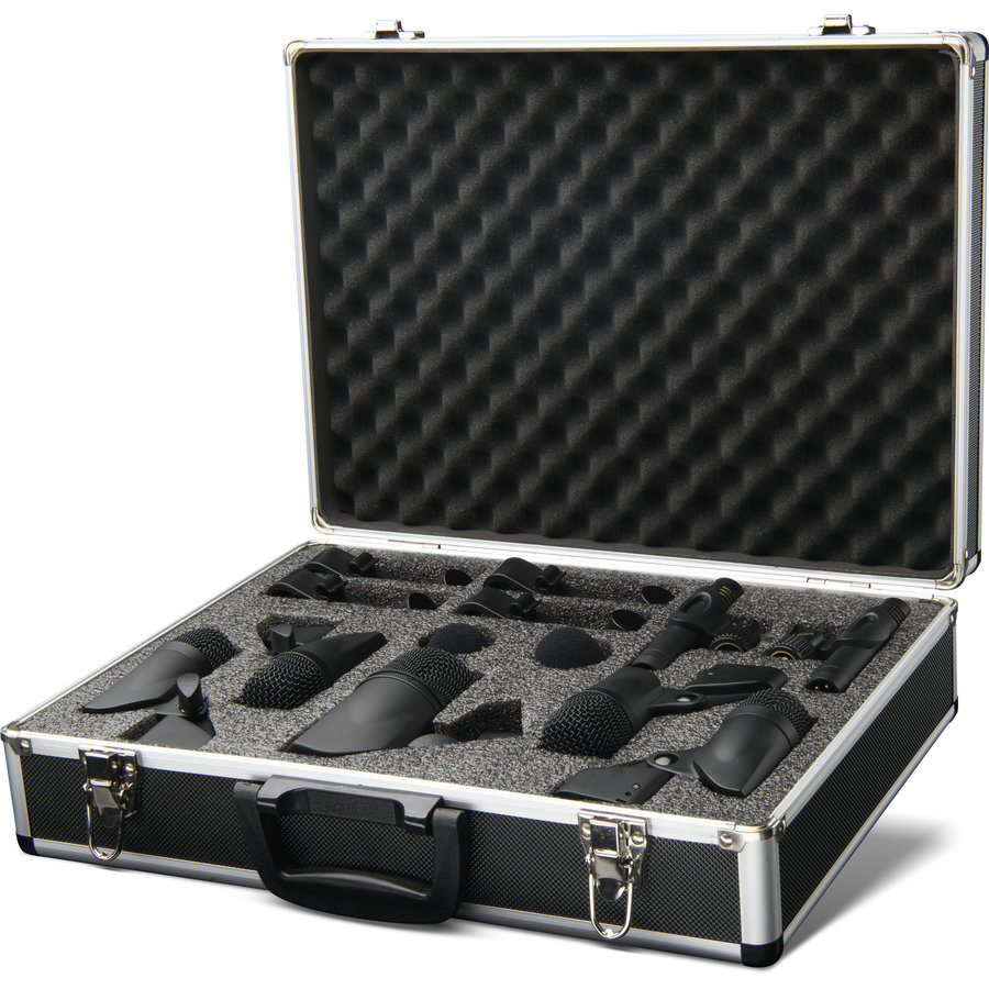 View larger image of PreSonus DM-7 Complete Drum Microphone Set