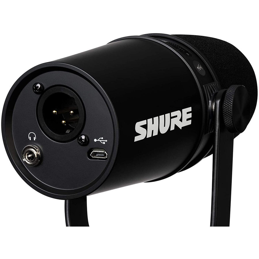 View larger image of Shure MV7 USB Podcast Microphone - Black