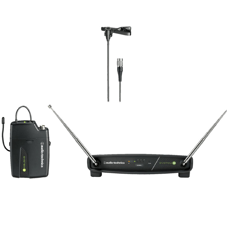 View larger image of Audio-Technica ATW-901a/L System 9 Lavalier Wireless System