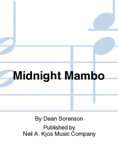 View larger image of Midnight Mambo - Score & Parts, Grade 2