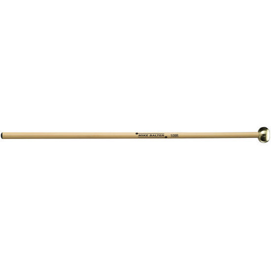 View larger image of Mike Balter Unwound Mallet - Hard, Rattan, Brass