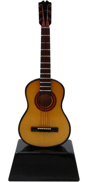 View larger image of Mini Acoustic Guitar on Stand - 6