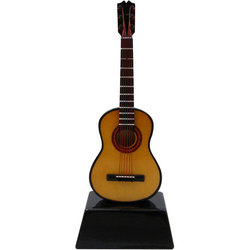 Mini Acoustic Guitar on Stand - 6