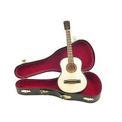 Mini Acoustic Guitar with Case - 9