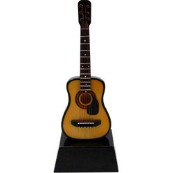 Mini Acoustic Guitar with Pickguard on Stand - 6